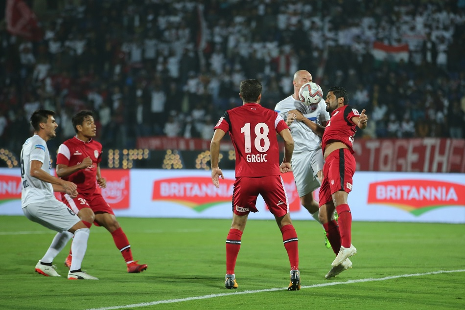 ISL 2018-19: NorthEast United FC plays 1-1 draw with FC Pune City