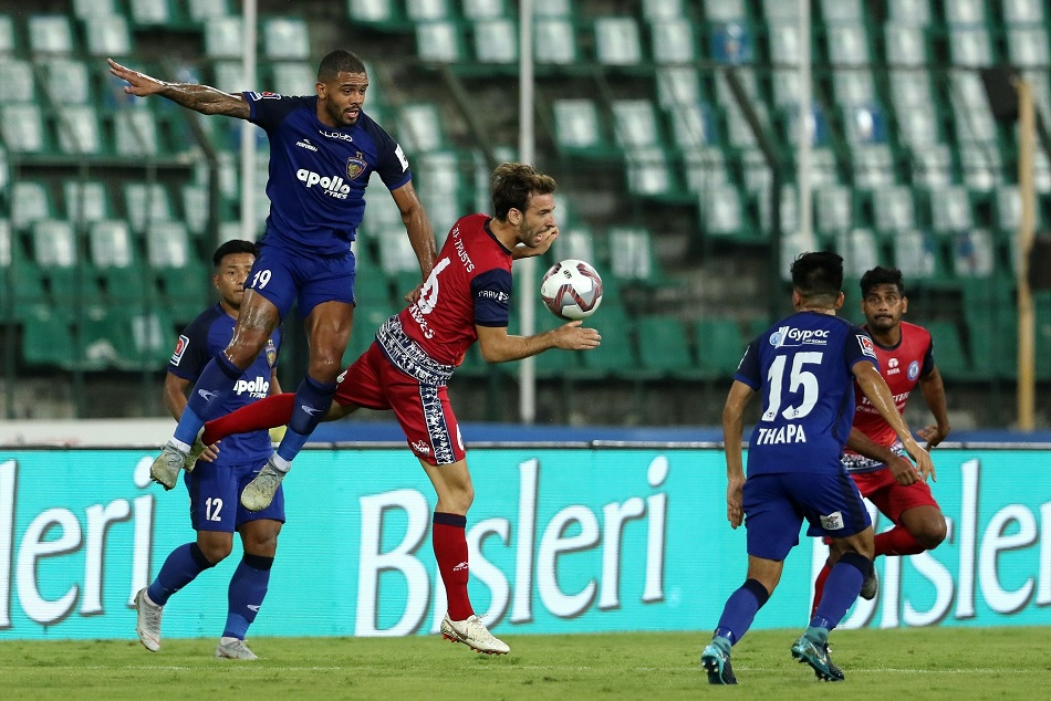 ISL 5- Chennaiyin stops Jamshedpur at goalless draw, chennaiyin out from playoff too