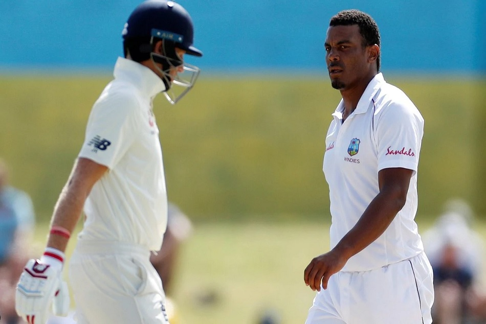 Joe root humorously replied to Shannon gabriel on his homophobic mark