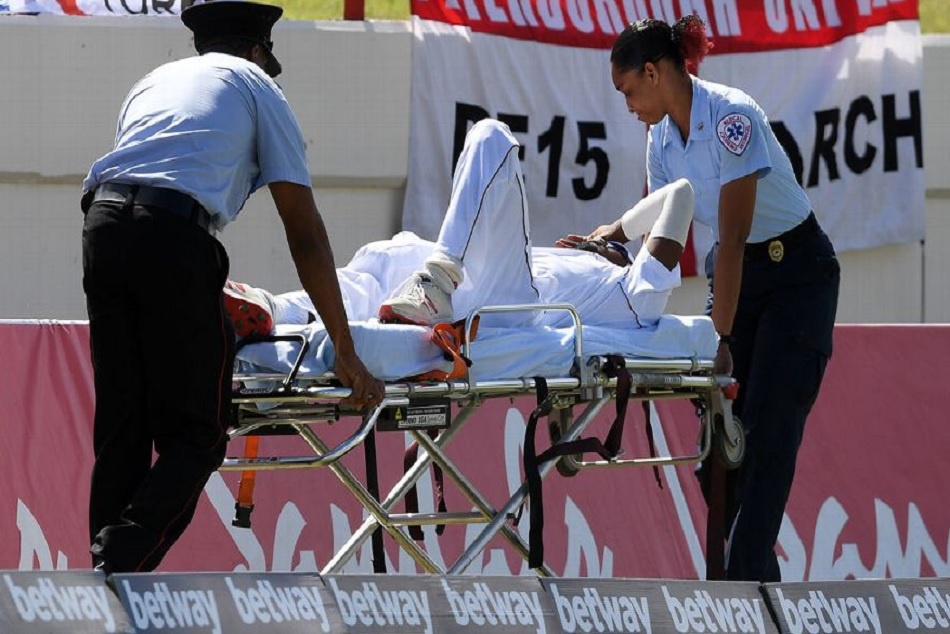West Indies Cricketer Keemo Paul Suffered From Quadriceps Injury Sent For Scans