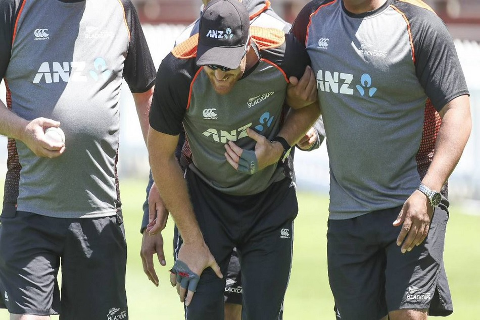 Martin Guptill has been out from form India ODI series last match with back injury