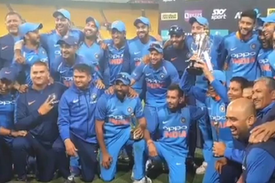 Indian team celebrates in Uri Style shouted 'How's the Josh' after historic victory against New Zealand