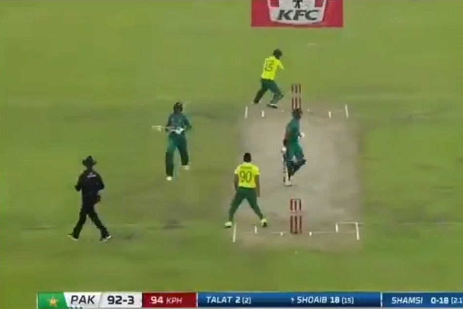 Confusing Run During Pakistan Vs South Africa 3rd T20 Match