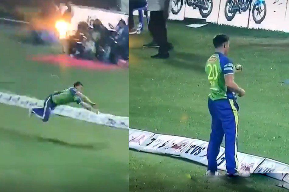 BPL 2019: Jason Roy took Stunning catch of yasir ali video went viral