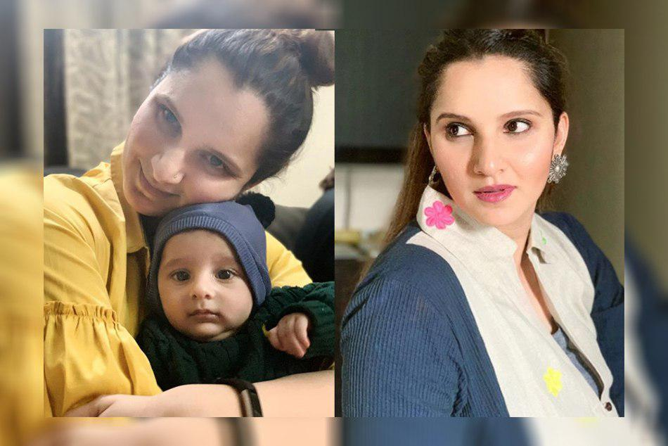 Sania Mirza working hard in gym 3 months after birth of son Izhaan