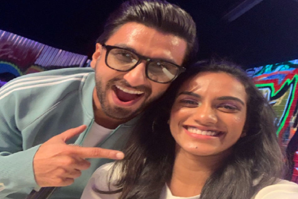 Pv Sindhu Posts Picture With Gully Boy Ranveer Singh
