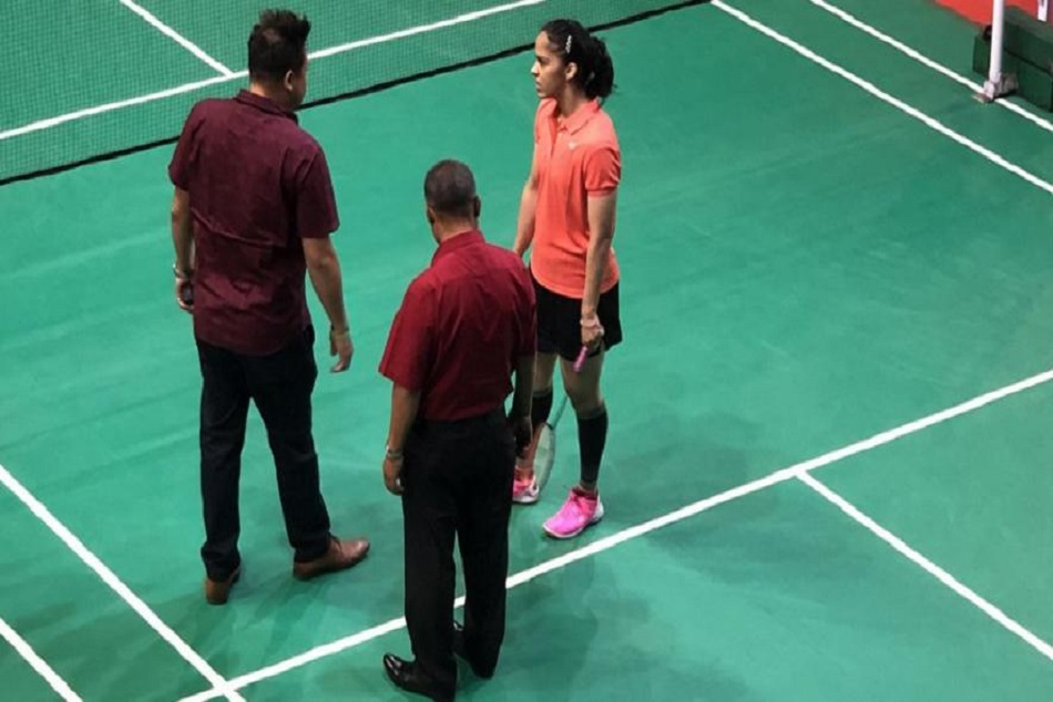 Saina Nehwal Refuses Play On Uneven Surface