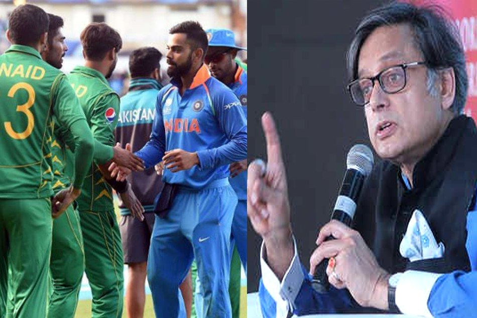 Shashi Tharoor said it would be worse than a surrender if India doesnt play against Pakistan in world cup