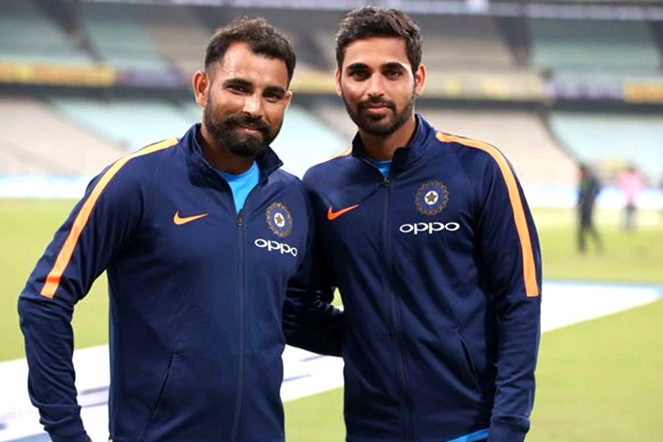 Bhuvneshwar WITH Shami