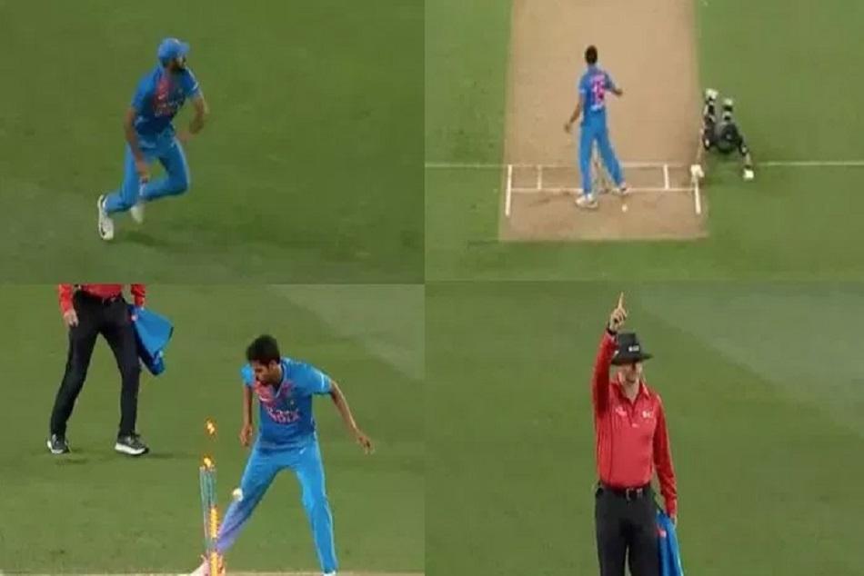Watch Vijay Shankar Rocket Throw Run Ross Taylor