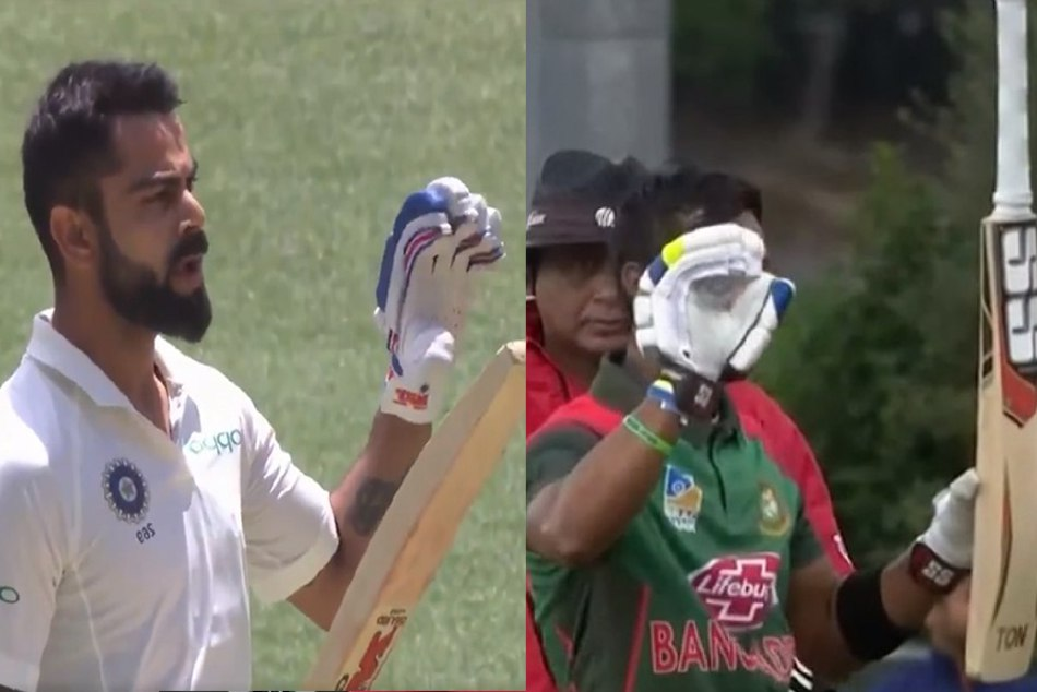 VIDEO: When Sabbir Rahman copy of Virat Kohli's iconic celebration