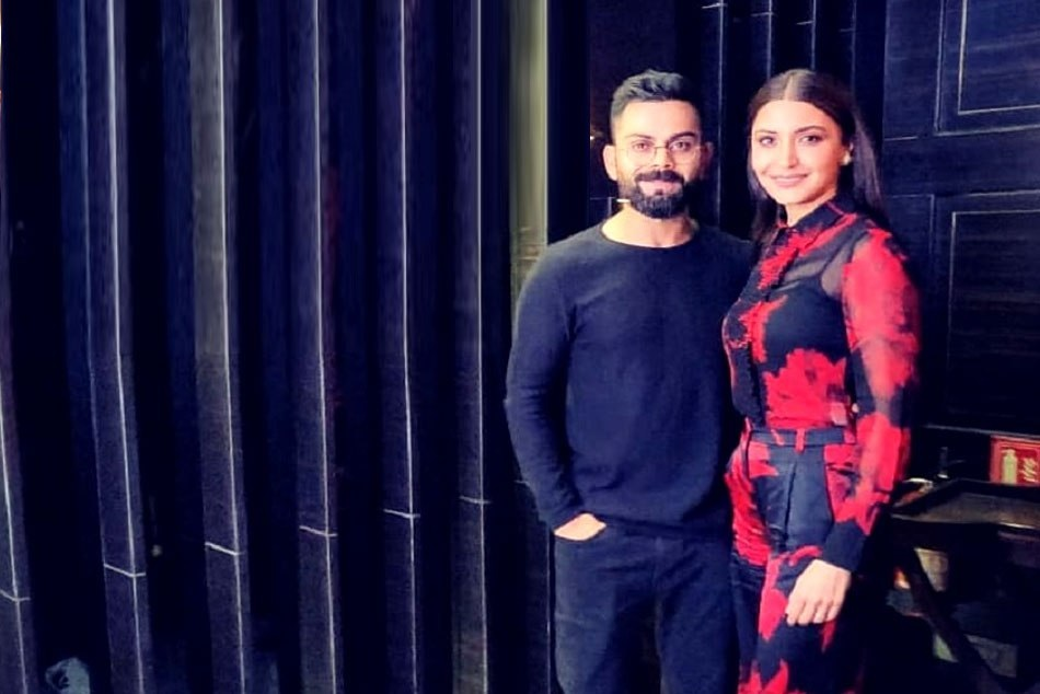 Virat Kohli Celebrated Night With His Valentine Anushka Sharma Valentine Day