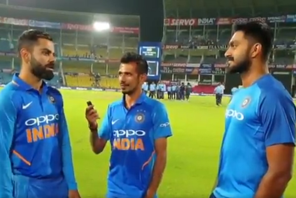 Virat Kohli, Vijay Shankar Reveal How India Won Their 500th ODI On Chahal TV - Watch