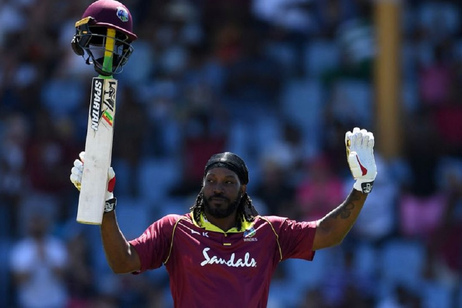 Chris Gayle demolishes English attack and made fastest fifty by any Caribbean