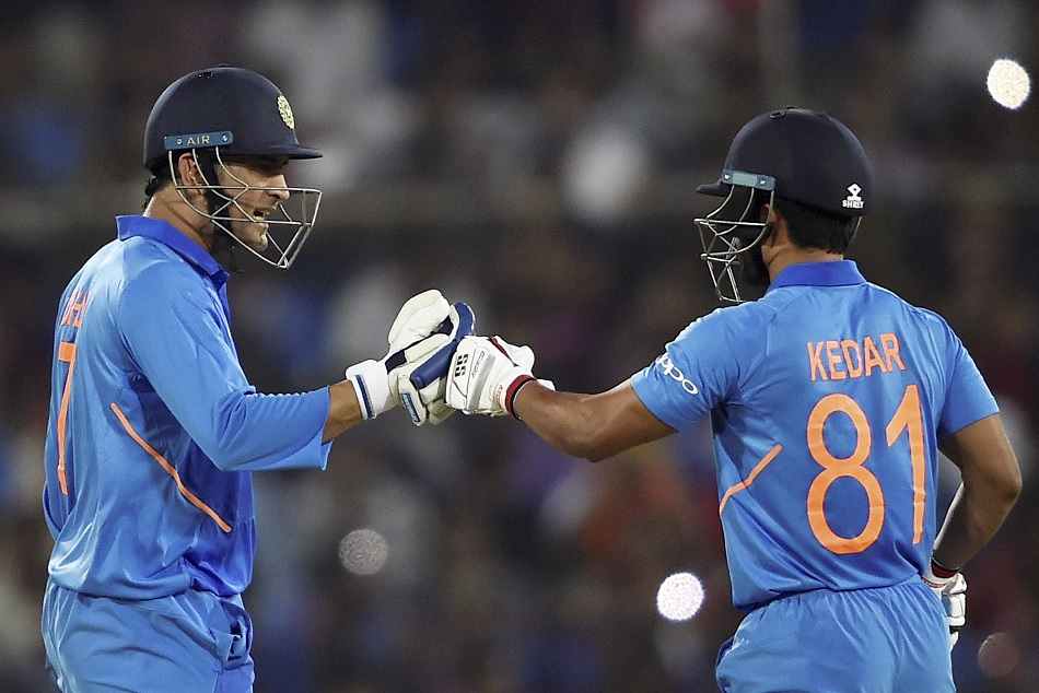 INDvsAUS: Dhoni and jadhav recreate the Melbourne magic in Hyderabad ODI