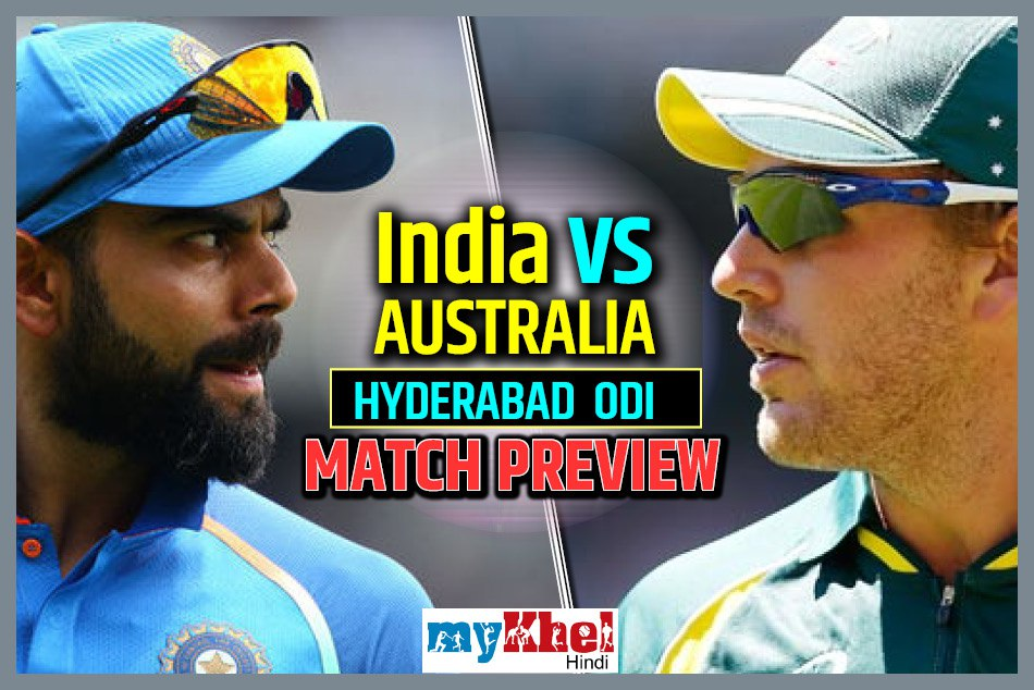 India Vs Australia 1st Odi Preview India S Search Perfect Eleven Will Continue Hyderabad