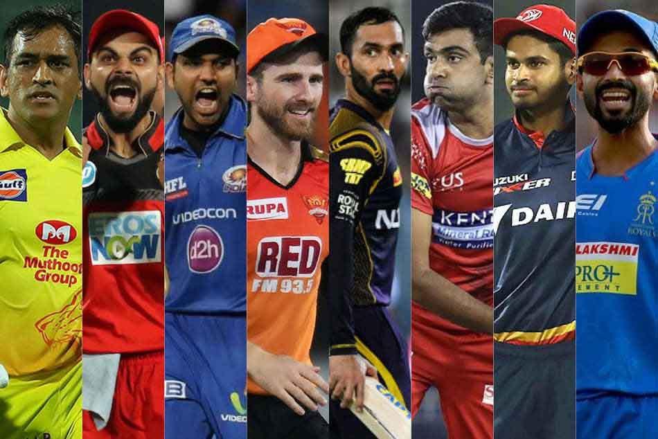 Ipl 2019 Csk Mumbai Indians Rcb Kxip Kkr How The Eight Teams Stand