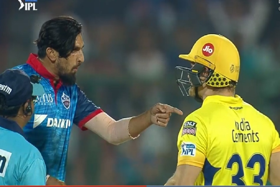 Fight Between Ishat Sharma And Shane Watson Ipl 2019 Viral Video