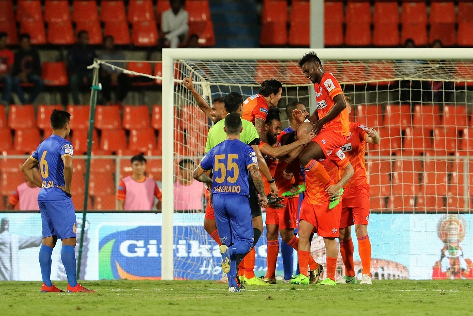 Isl 5 Fc Pune City Ends Its Race With The Win Against Mumbai City Fc