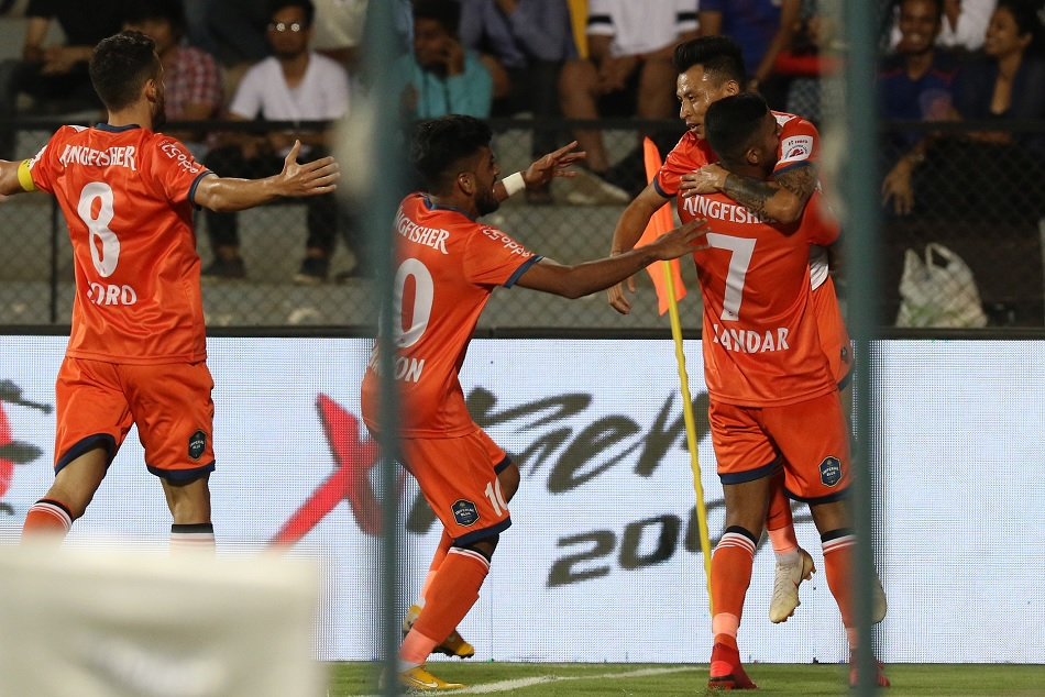 Isl 5 Semifinal Stage Fc Goa Beats The Mumbai City Fc With 5