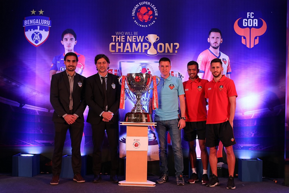 Indian Super League Final Bengaluru Goa Will Eye On The Title