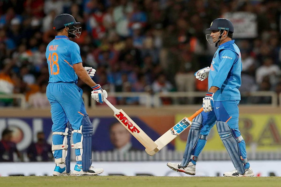 Indvsaus Ms Dhoni Surpasses Rohit Sharma S Highest Six Record Odi For India