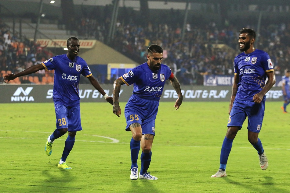 ISL 5- Mumbai city FC entered in playoff first time