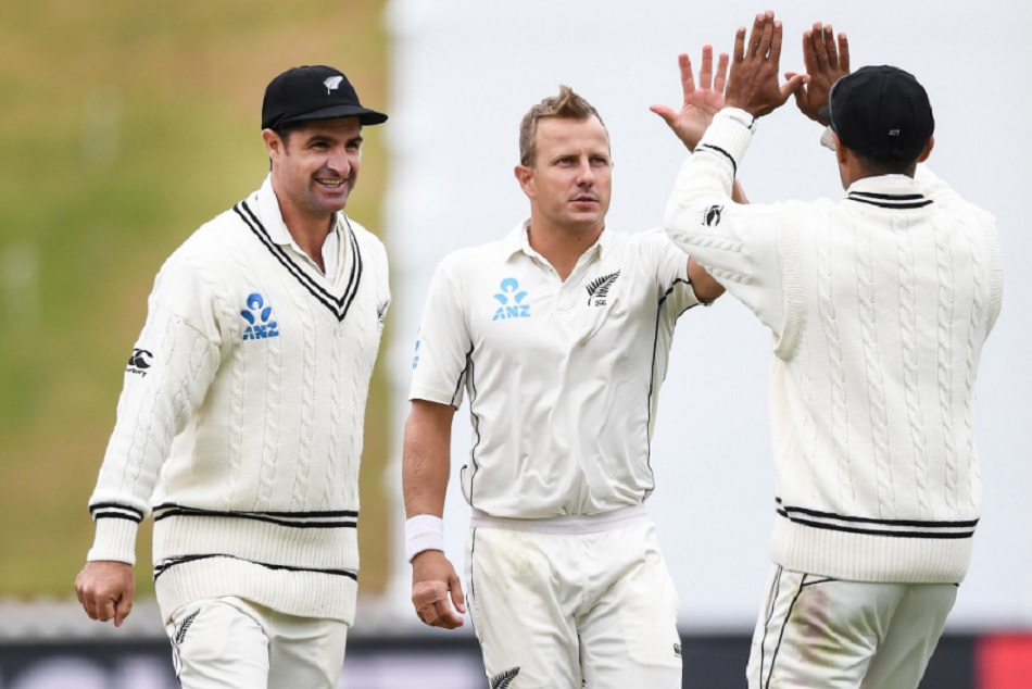 New Zealand Crushes Bangladesh Wellington Test Neil Wagner Ross Taylor