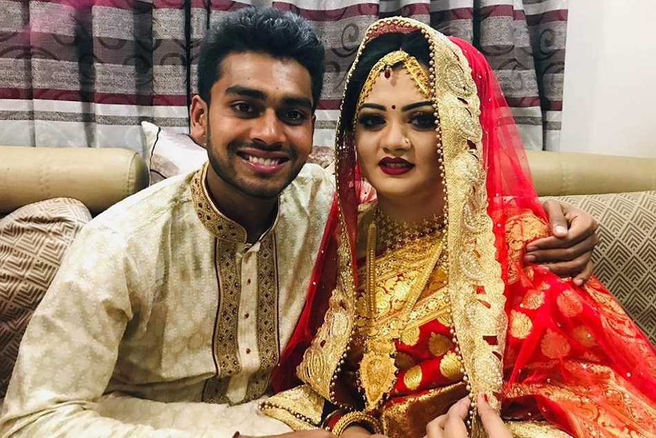 Bangladesh Cricketer Marries After Surviving New Zealand Mosque Attacks