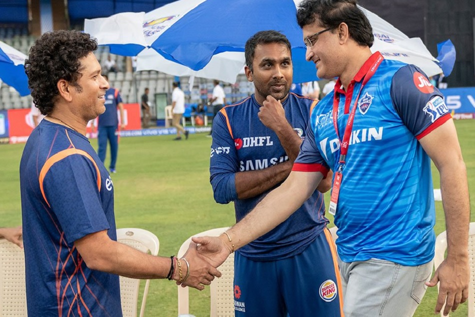 IPL 2019: When Sachin And Gangulys reunion broke the internet, VIDEO