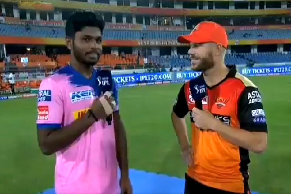 Ipl 2019 Sanju Samson Said David Warner That You Destroyed My Day Video