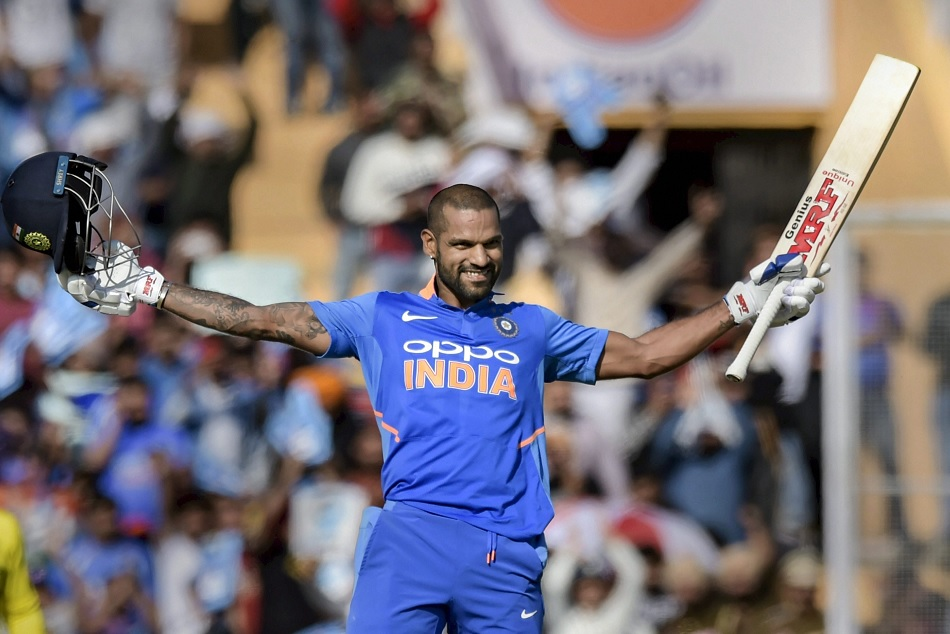 Indvsaus Shikhar Dhawan Highest Odi Ton Created Several Records Stats