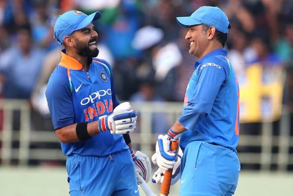 World Cup 2019 Gavaskar Shows How Chemistry Dhoni Kohli Helps India Lift Trophy