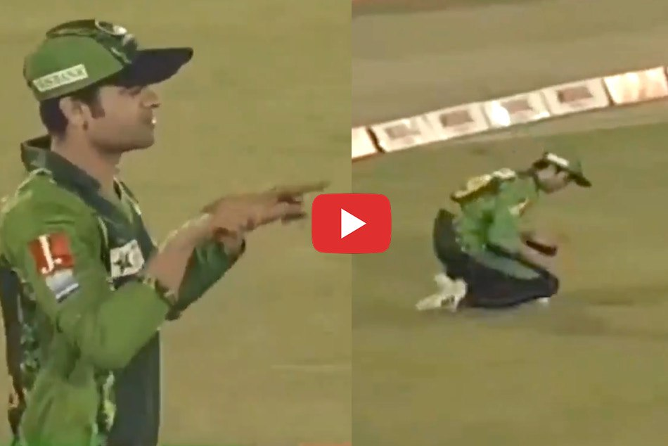 Ahmed Shehzad Asks For Review After Dropping Catch Video Viral