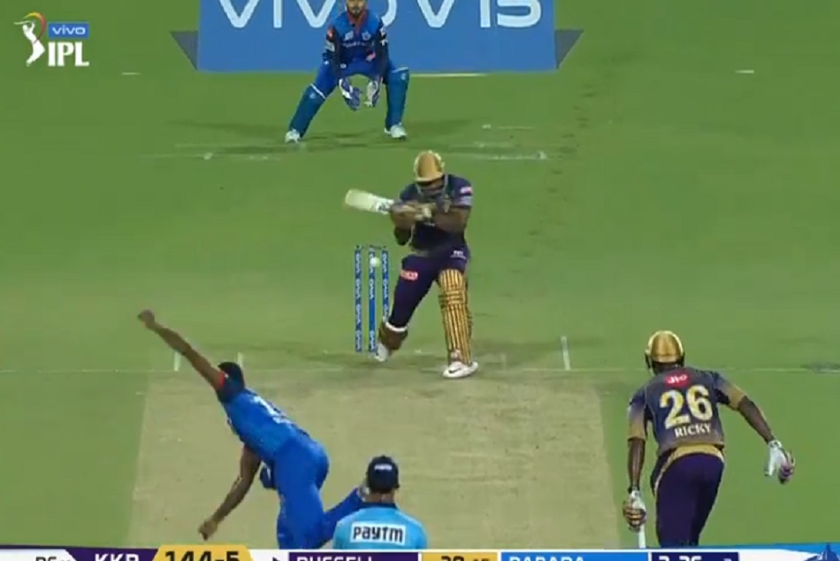 Andre Russell Hit 2 Sixes To Kagiso Rabada In Ipl 2019 26th Match