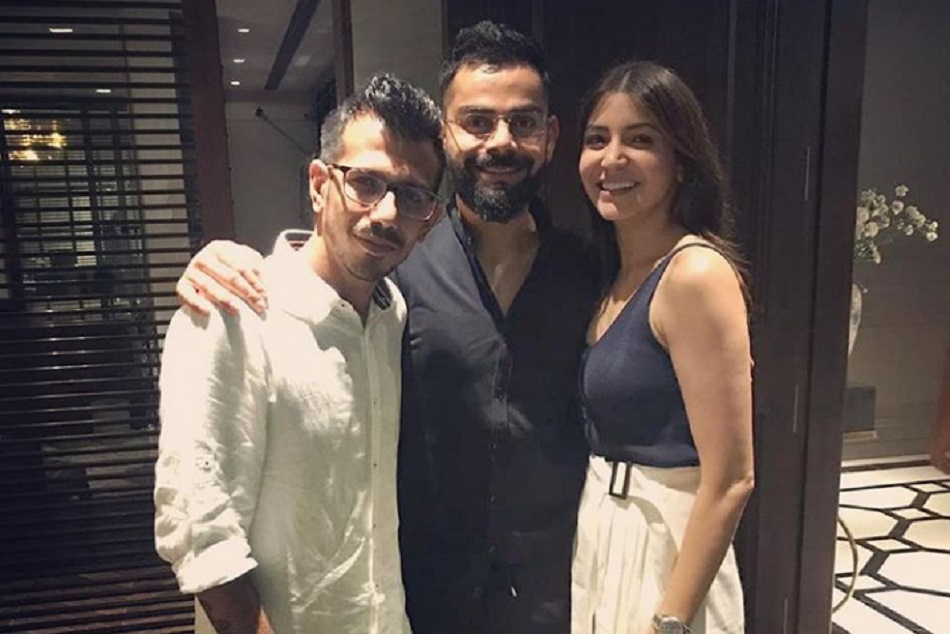 Virat And Anushka Give A Dinner Party To Rcb Team Ipl