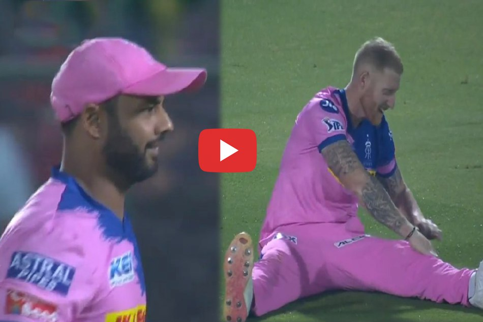 IPL 2019: Comedy exploits of Stuart Binny and Ben stokes made fun in the ground, Watch