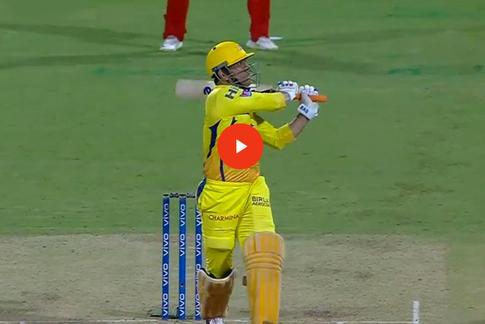 Ms Dhoni Hit Longest Six In Ipl 2019 During Ipl 2019 39th Match