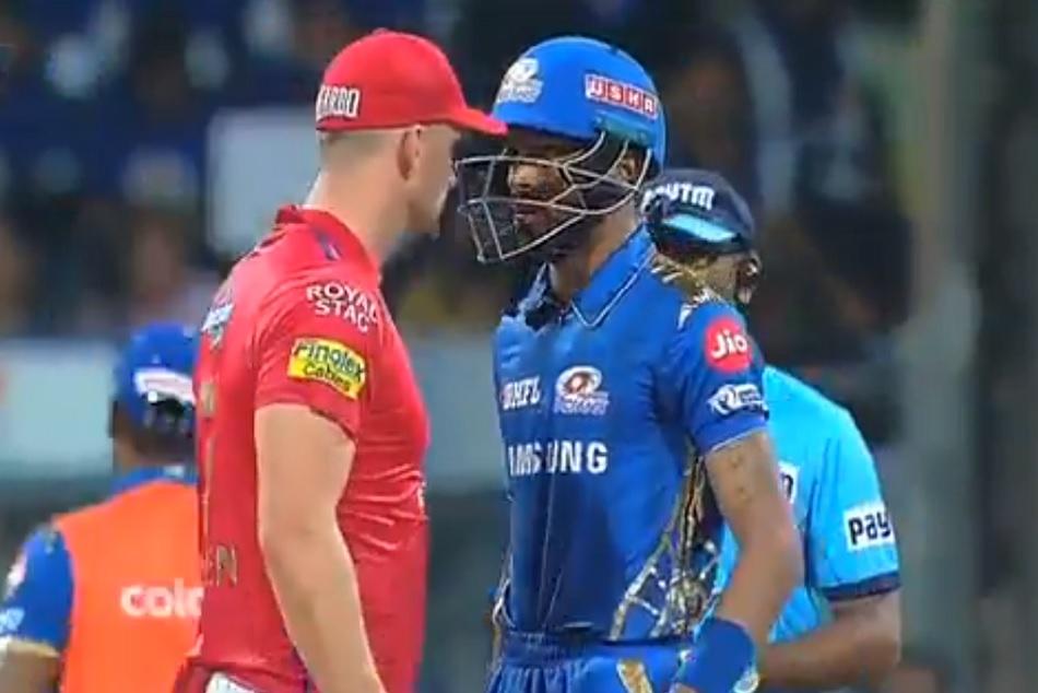 IPL 2019: Hardus Viljoen Engages in Stare down Battle with Hardik Pandya, VIDEO