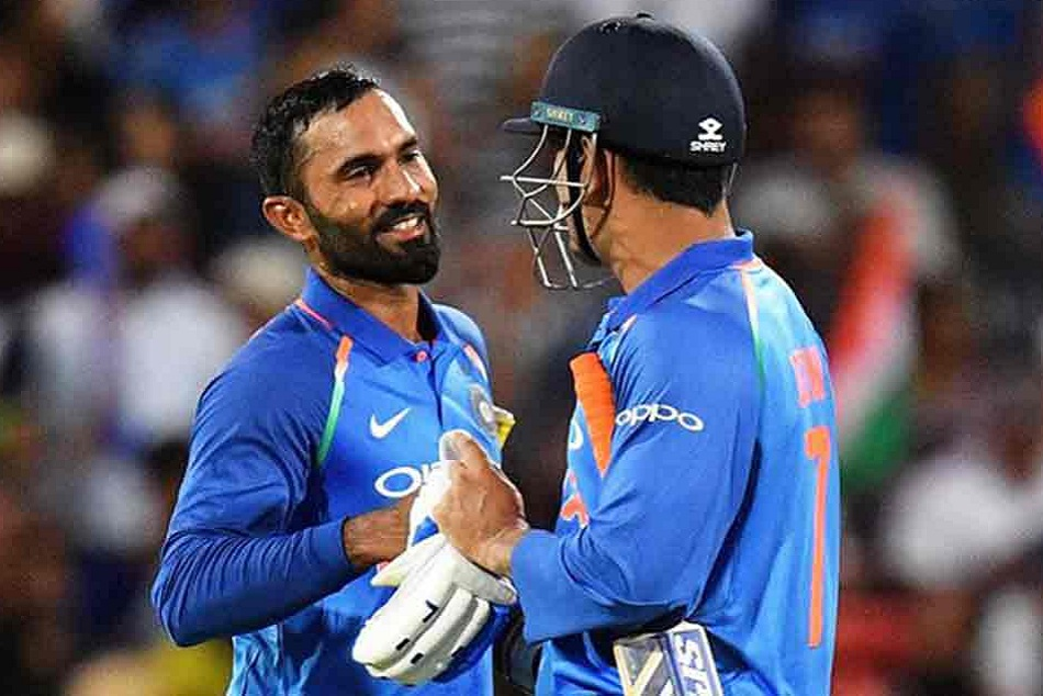 Dinesh Karthik Statement On Ms Dhoni After Selected For World Cup