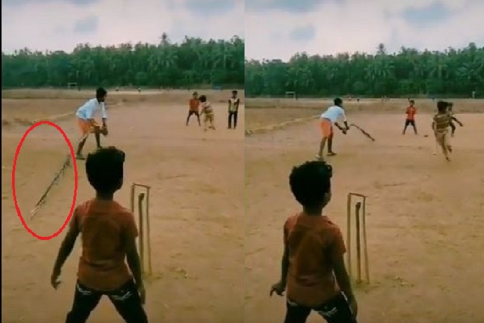 New way of running between the wickets, video viral
