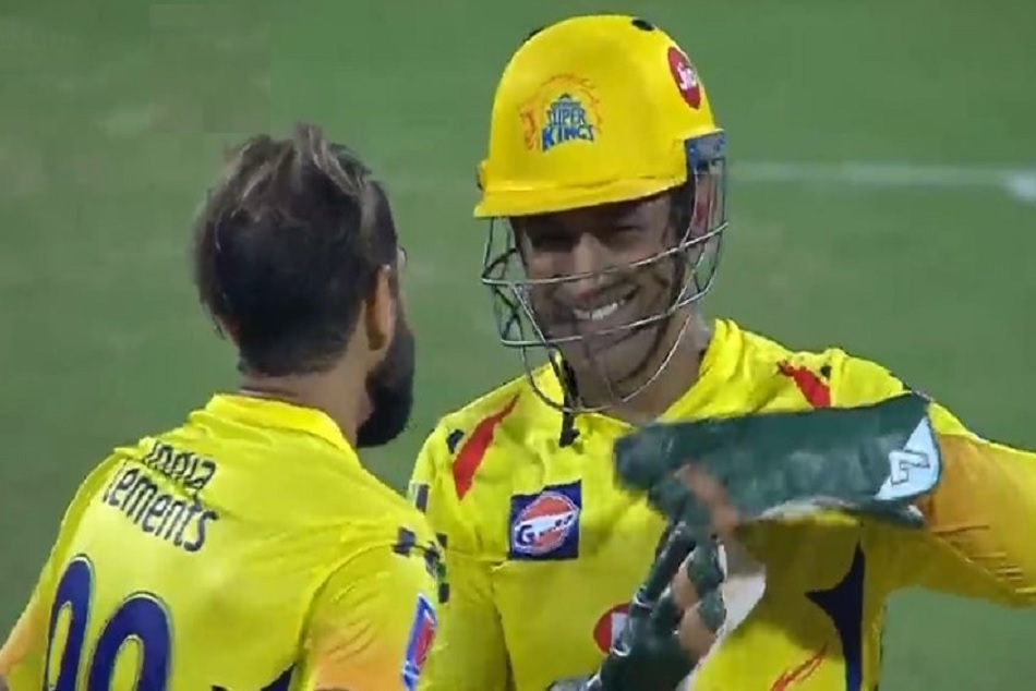 IPL 2019: After the request of Tahir, Dhoni smilingly take the review, WATCH