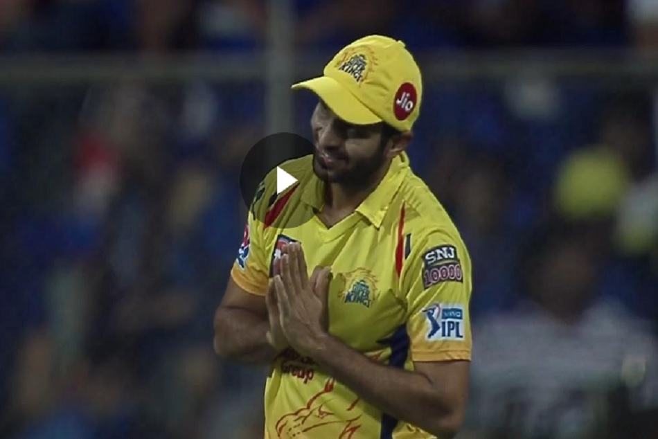 IPL 2019: When Shardul Thakur apologies to ms dhoni, watch video