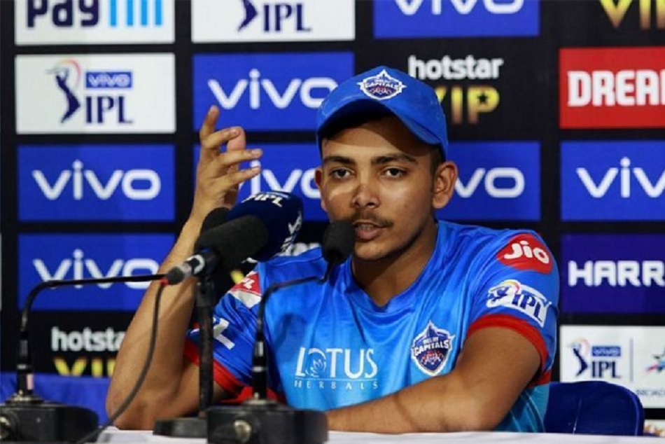 Ipl 2019 Prithvi Shaw Credits Ricky Ponting And Sourav Ganguly Delhi Capitals Form