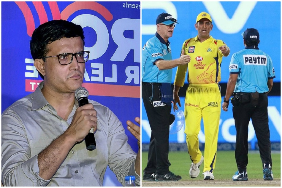 Ganguly Comes To Csk Skippers Defence After No Ball Controve Ipl