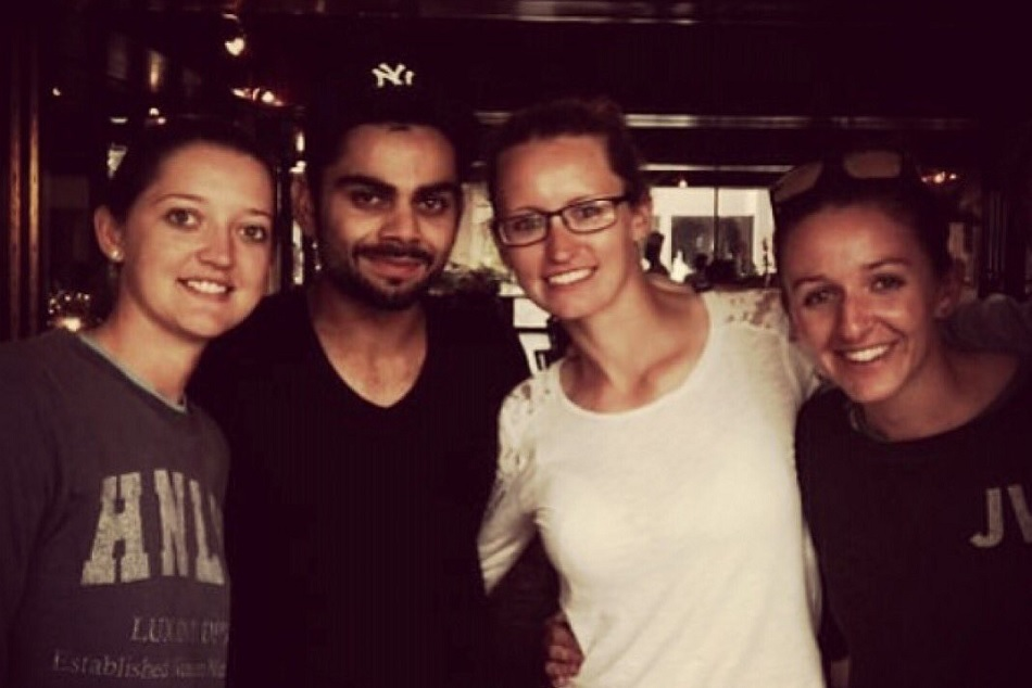 Virat Kohli Wanted To Meet England With Women S Cricketer Sarah Taylor 5 Year Ago