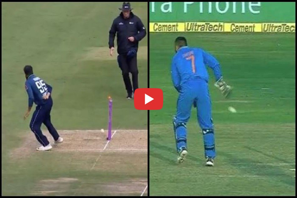 Adil Rashid Become In Dhoni S Style And Pakistani Batsman Out