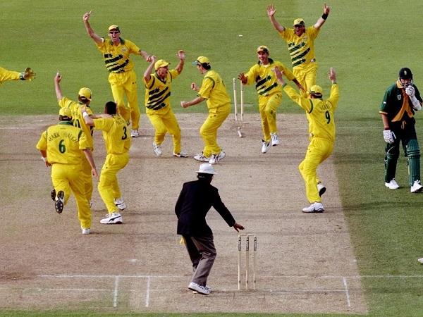 1. ऑस्ट्रेलिया बनाम साउथ अफ्रीका (1999)