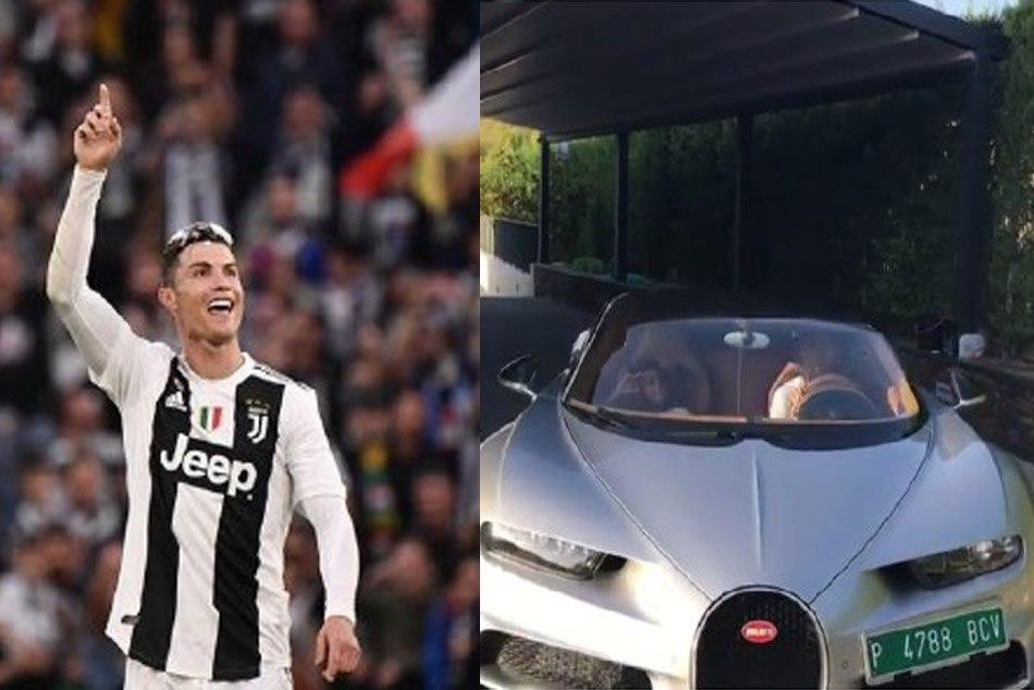 Cristiano Ronaldo buys most expensive car Bugatti La Voiture Noire