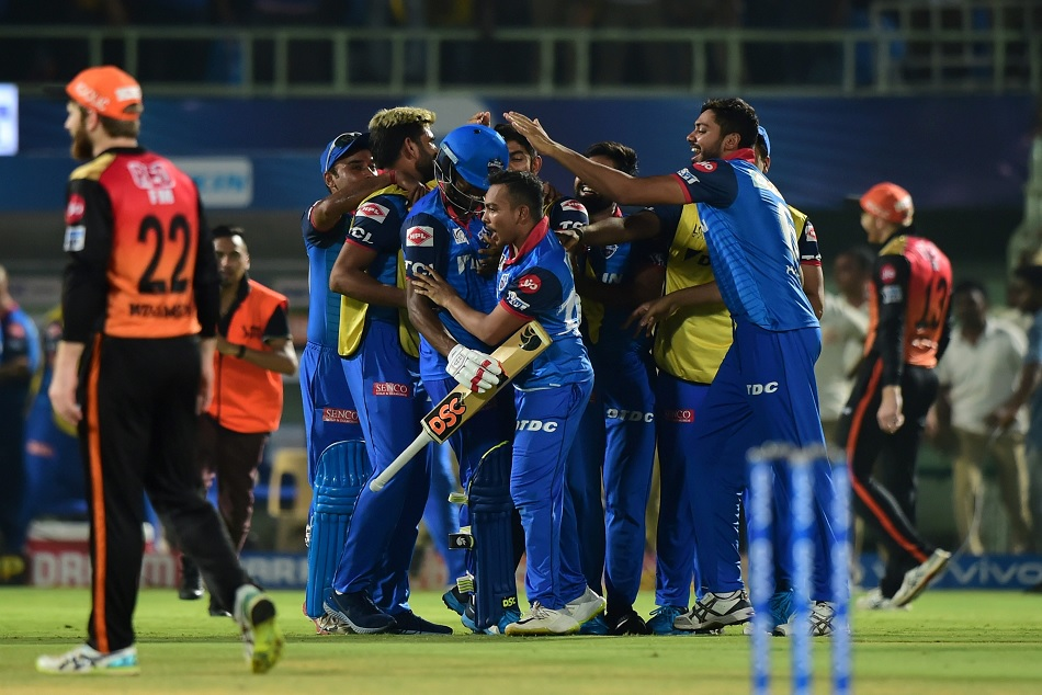 IPL 2019:Delhi Capitals achieved its first ever win an IPL knockout game